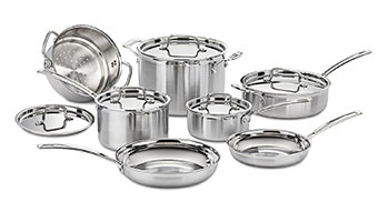 3 Best Stainless Steel Cookware Reviews